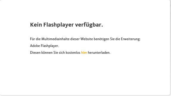 Kein Flash